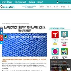 8 applications enfant pour apprendre à programmer