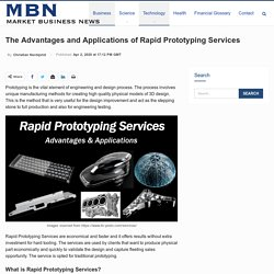 The Advantages and Applications of Rapid Prototyping Services