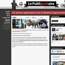 15 autres applications de la Réalité Augmentée   Le Publigeekair