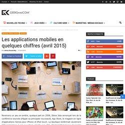 Les applications mobiles en quelques chiffres (avril 2015)