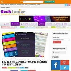 Bac 2015 : les applications gratuites pour réviser sur ton mobile