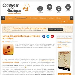 Le top des applications au service de la musique