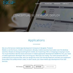 Applications - SGF Services