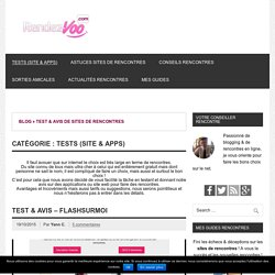 Test & Avis d'applications et de sites de rencontres