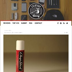 EDC - Lip Balm Applications in Survival Situations via...