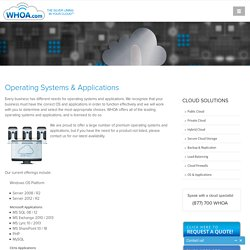 Cloud Servers and Cloud Applications - Cloud Solutions Provider