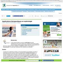 Quelles applications pour la sophrologie ?