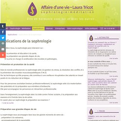 Applications de la sophrologie - Laura Tricot sophrologue à Nantes, sophrologie méditation.