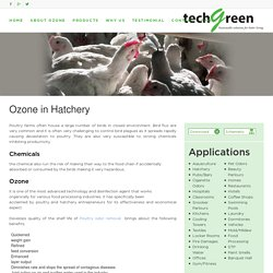 Ozone in Hatchery- Techgreensolution