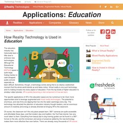 Education Applications in Reality Technology (MR, AR, VR)