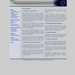 GDV - applications of Kirlian technology