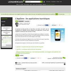 L'AppZone : les applications pour faire du tourisme de qualité