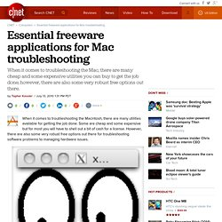 Essential freeware applications for Mac troubleshooting | MacFixIt