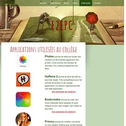Applications utilisées au Collège - f2epc
