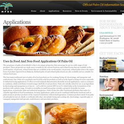 Welcome to the Malaysian Palm Oil Board // Applications // Washington, DC // 1-202-572-9768