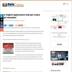 Le migliori applicazioni web per creare libri interattivi