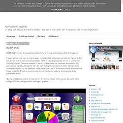 Applicazioni Logopedia: INIZIA PER