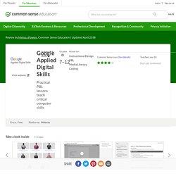 Google Applied Digital Skills Review for Teachers