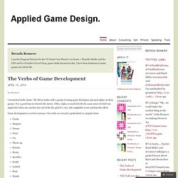 Applied Game Design