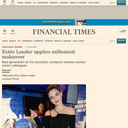 Estée Lauder applies millennial makeover