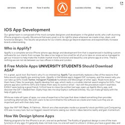 Ios App Development London, Uk