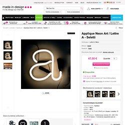 Lettres décoratives en néon Seletti- Selab