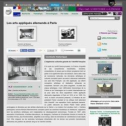 Les arts appliqués allemands à Paris