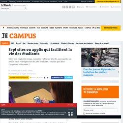Sept sites ou applis qui facilitent la vie des étudiants