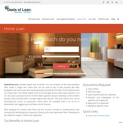 Apply for Best Home Loan Online