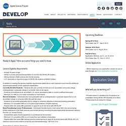 Apply to DEVELOP