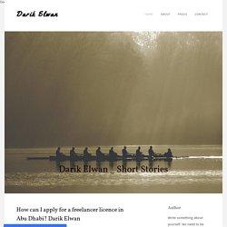 How can I apply for a freelancer licence in AbuDhabi? Darik Elwan - Darik Elwan
