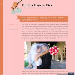 Submit Required Documents for Fiance visa