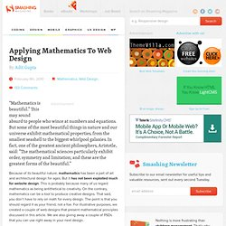 Applying Mathematics To Web Design - Smashing Magazine