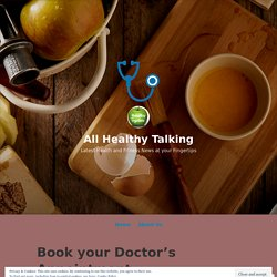 Book your Doctor's Appointment Anytime Anywhere