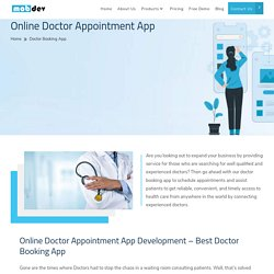 Best Doctor Booking App - Online Doctor Appointment App