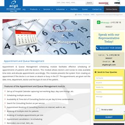 Doctor Appointment Management, Hospital Information System
