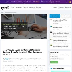How Online Appointment Booking System Revolutionized Business