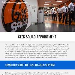 scheduling geeksquad com