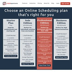 Appointment & Class Scheduling Software