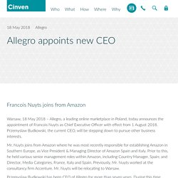 Allegro appointed Francois Nuyts As CEO