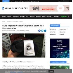 GOTS appoints Ganesh Kasekar as South Asia Representative