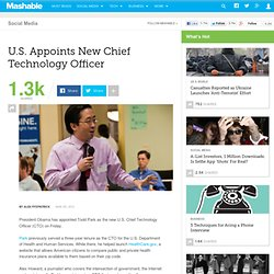 U.S. Appoints New Chief Technology Officer
