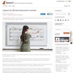 L'apport du TBI dans l'éducation musicale