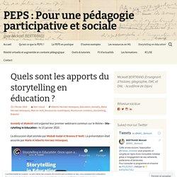 Quels sont les apports du storytelling en éducation ?