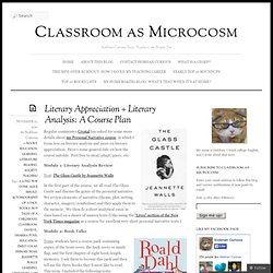 Literary Appreciation + Literary Analysis: A Course Plan « Classroom as Microcosm