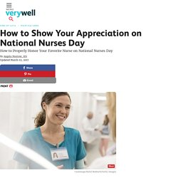 Ways to Show Your Appreciation on National Nurses Day