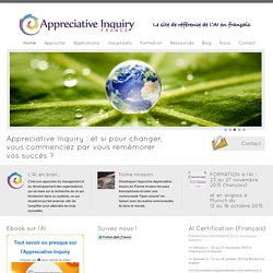 Appreciative Inquiry - Un site utilisant WordPress