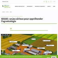 GEMBLOUX_ULIEGE_BE SEGAE - Un jeu sérieux pour appréhender l'agroécologie.