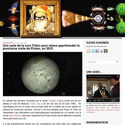 Une carte de la lune Triton pour mieux appréhender la prochaine visite de Pluton, en 2015 - GuruMeditation