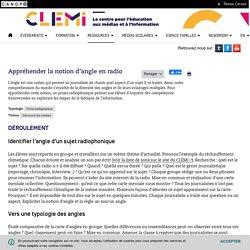 Appréhender la notion d'angle en radio- CLEMI